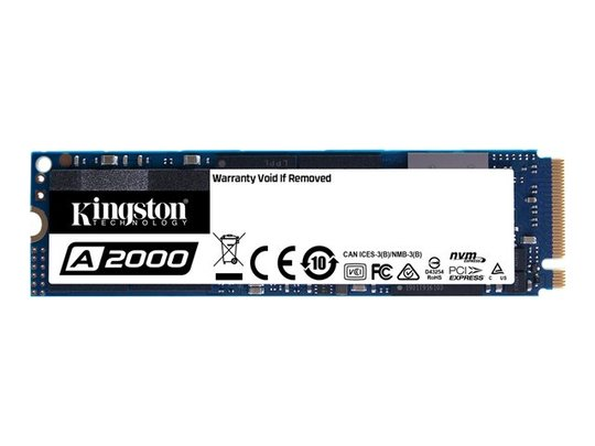 Kingston A2000 - PCI Express 3.0 x4 (NVMe)