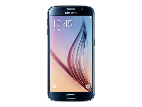 DEMO Samsung GALAXY S6 - Android Phone - Sort safir (SM-G920FZKANEE)