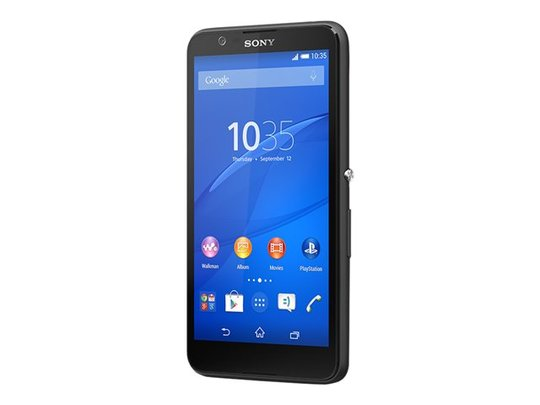 Sony XPERIA E4 - Sort - 8GB