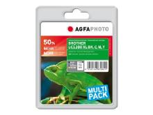 AgfaPhoto Multi pack - blækpatron (alternativ til: Brother LC1280XLVALBPDR)